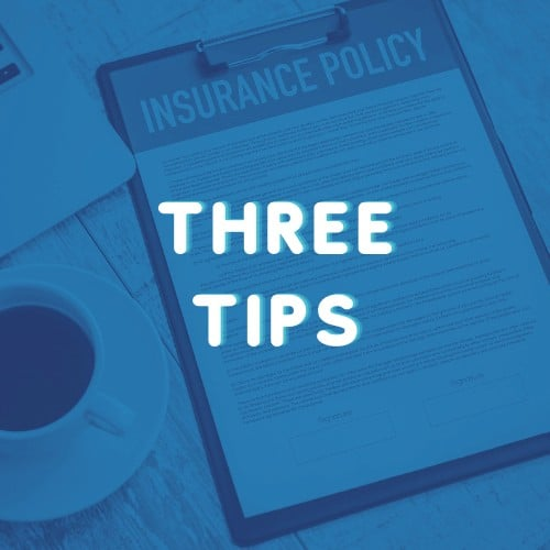 Three tips for buying property insurance