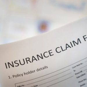 What should you do when filing a property damage claim in Florida